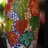 Wine cask painted by Inma Arco